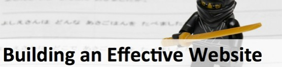 Building an Effective Website (Ninja Style)