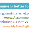 Get a domain name for your business that keeps on giving