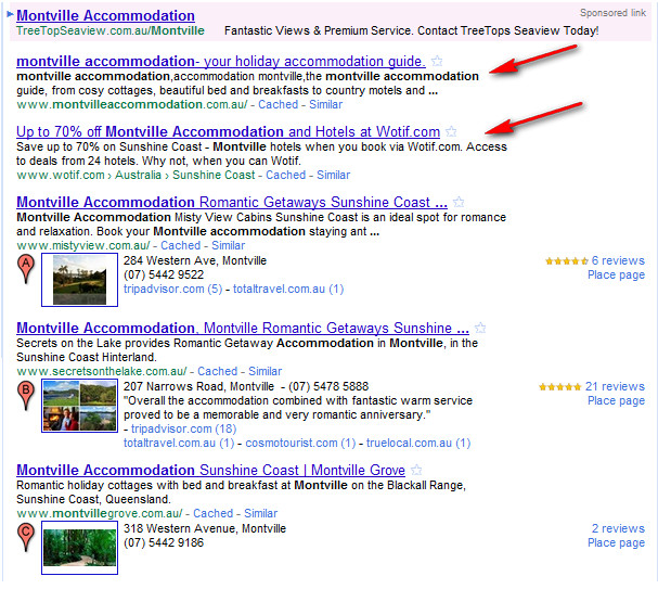 local search directories