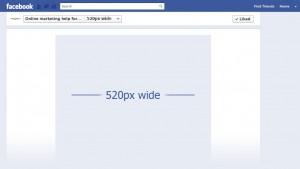 Facebook 520px Tabs