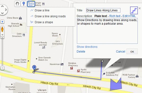 Creating a custom Google Map