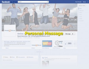 Facebook Page Message