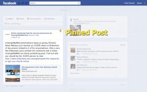 Facebook Pinned Post
